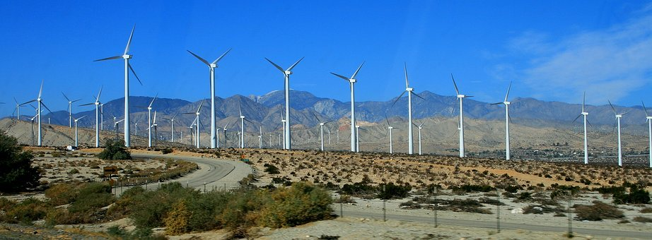 Windmills, California, Power, Turbine, Wind, Landscape