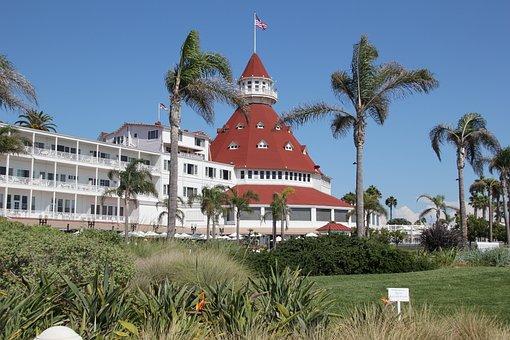 Hotel, Coronado Island, Coronado Hotel, San Diego