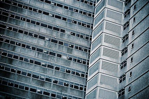 Flats, Depressing, Brutal, Architecture, Flat