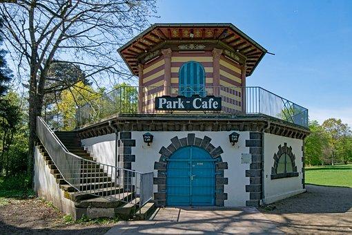 Green Castle Park, Frankfurt, Hesse, Germany, Park