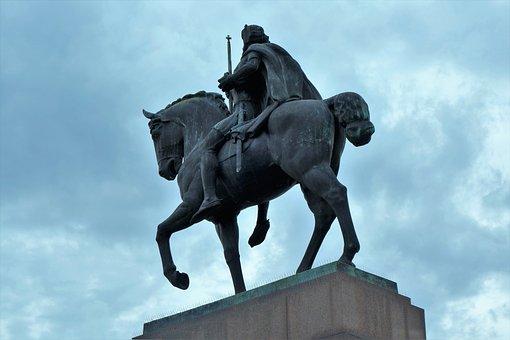 Statue, King Tomislav, Historic, Monument, Zagreb