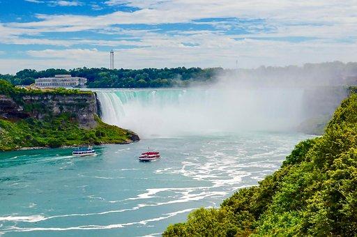 Niagara, Niagara Falls, Canada, Waterfall, Water