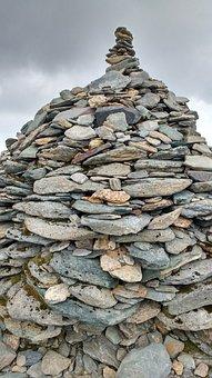 Old Man Of Coniston, Lake District, Mountain, Stones