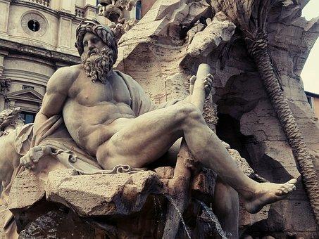 Piazza Navona, Fontana, Rome, Navona Square, Fountain