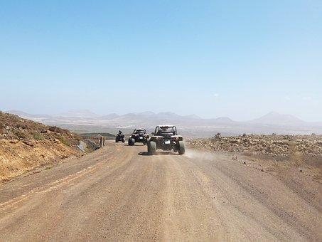 Quad, Buggy, Trail, Extreme, Adventure, Sport, Desert