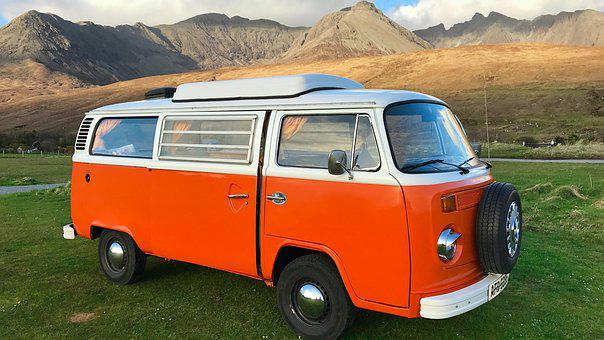 Combi, Vw, Van, Retro, Volkswagen, Old Car