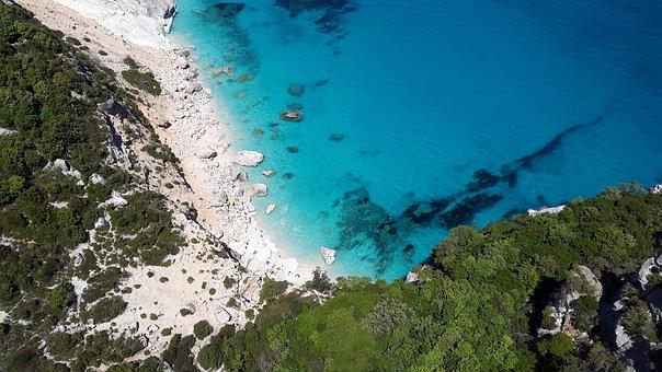 Sardinia, Mediterranean, Coast, Beach, Sea, Turquoise