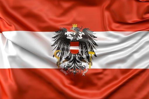 Flag, Austria, Eagle, Flag Of Austria, Windy, Sign