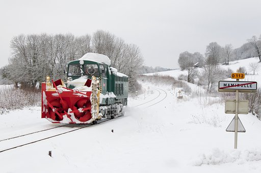 Train, Cn3, Beilhack, Snow, Winter, Hunting Snow