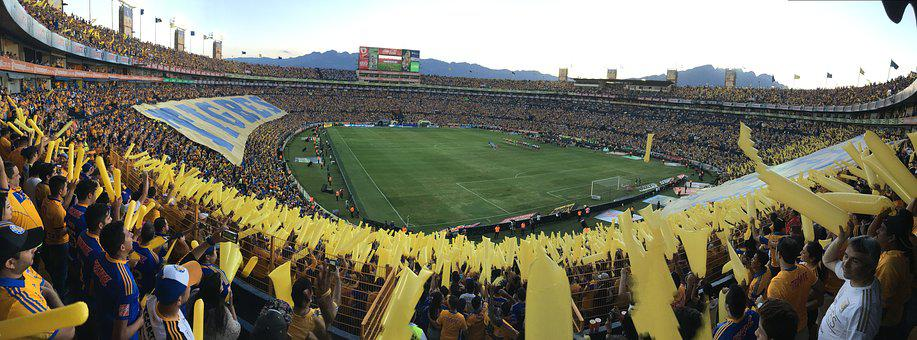 Stadium, Football, Tigers, Uanl, Sports, Mexico