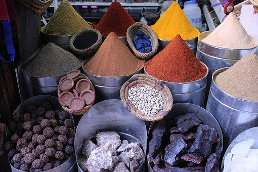 Color, Spices, Stones, Nature, Natural Cosmetics