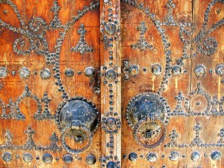 Door, Tunisia, Arabesque