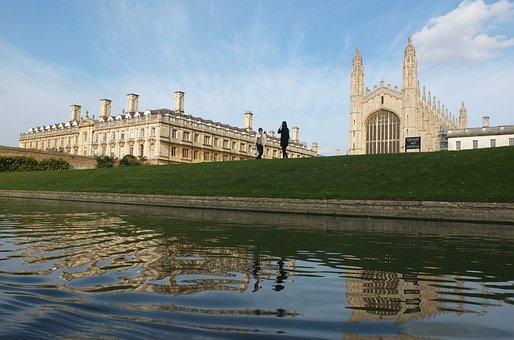 Cambridge, Kings, River, University, Chapel