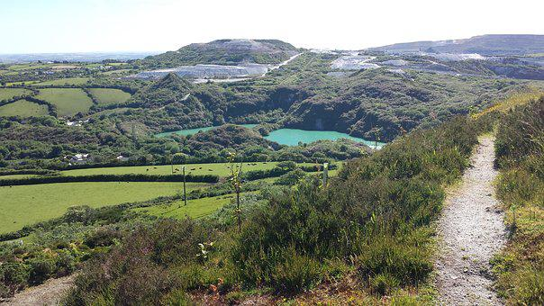 Cornwall, Lake, St Austell, Clay Trail, View, Scenery