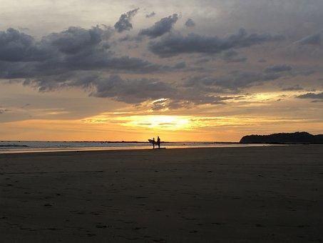 Panama, Beach, Surf, Paradise, Sand, Sea, Water