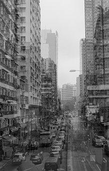 Yau Ma Tei, Buildings Around 1960's, Hong Kong