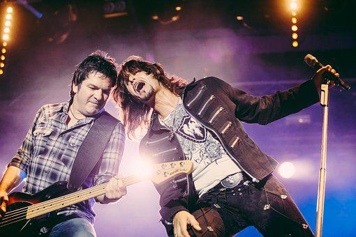 Band, Artist, Music, Rock, Gotthard, Bass, E Bass