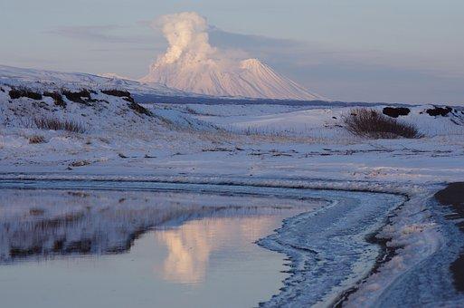 Volcano, Zhupanovsky, The Eruption, Ash Emission