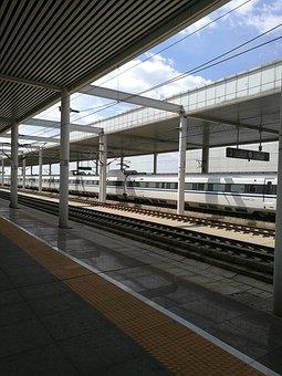 High Speed Rail, China, Baoding