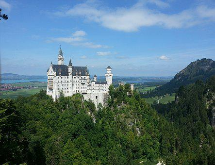 Germany, Bavaria, Architecture, Neuschwanstein Castle