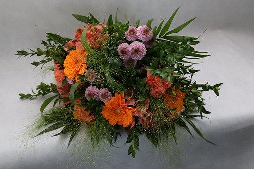 Flowers, Bouquet, Flower Shop, Decoration, Composition