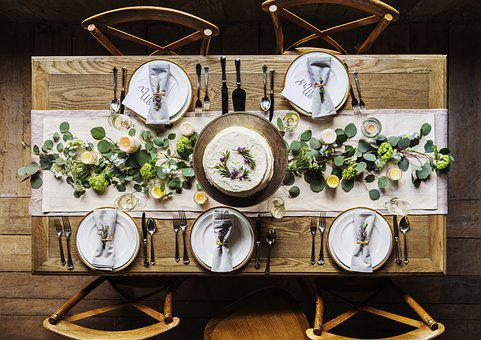 Champagne, Cloth, Cutlery, Decoration, Dining
