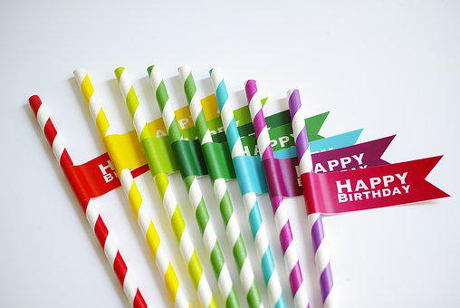 Drinking Straw, Color Eyedropper, Rainbow, Color