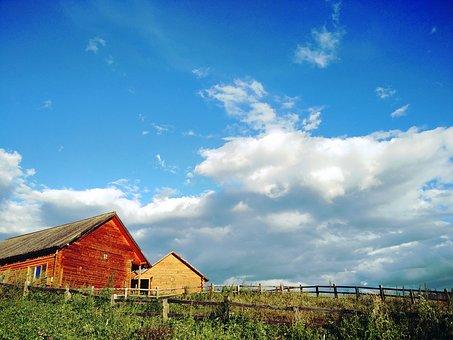 Sunny Days, Log Cabin, Color