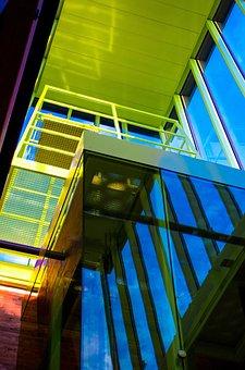 Architecture, Detail, Window, Derail, Library, Liestal