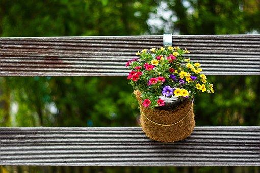 Flowers, Decoration, Blossom, Bloom, Gartendeko, Green
