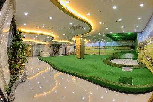 Screen Golf, Golf, Putting