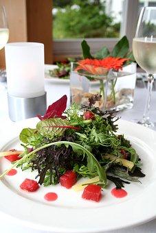 Wild Herbs, Salad, Eat, Healthy, Food, Green