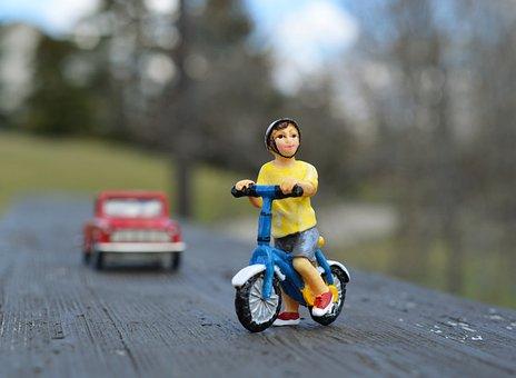 Bicycle, Safety, Helmet, Child, Boy, Safe, Accident