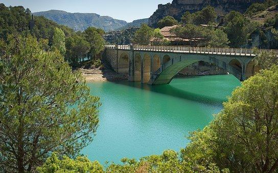 Spain, La Fou, Els Ports, Lake, Mountains