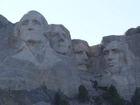 Mount Rushmore, Presidents, Mountain, Landscape