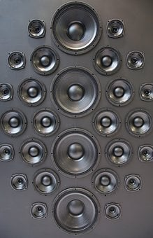 Speakers, Music, Box, Sound, Hifi, Equalizer, Amplifier