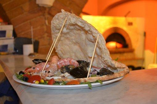 Fish, Pizza, Conciglia, Pizzeria, Oven, Kitchen, Cook