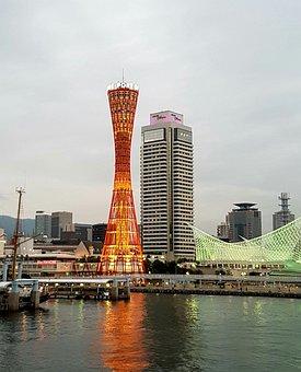 Japan, Kobe, Port Tower