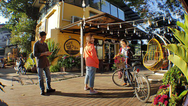 Cafe, Kua-lek, Restaurant