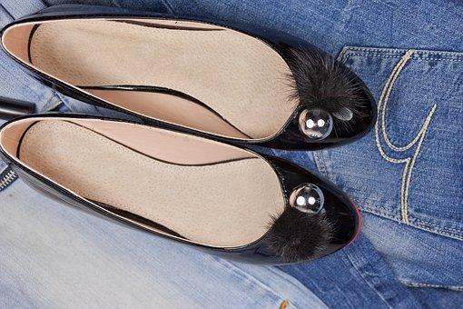 Shoes, Ballerinas, Ballet Flats, Lakirovanie, Fur