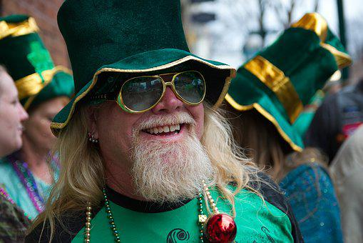 Hot Springs, St Paddys Day, Parade, Elf, Celebration