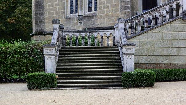 Staircase, Stairs, Schwarzenberk Tomb, Gothic Revival