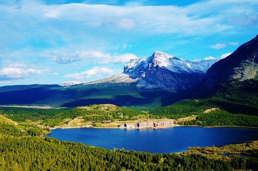 America, Usa, Montana, Glacier, National, Park