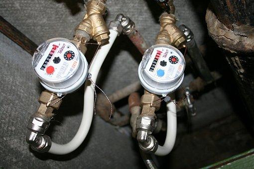 Counter, Water, Water Meter, Sanitary Engineering