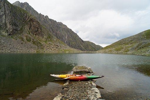 Canoeing, Kayak, Paddle, Water Sports, Inzinger Lake