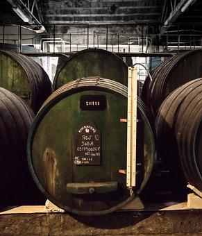 Wine, Wine Barrel, Port Wine, Cellar, Dark