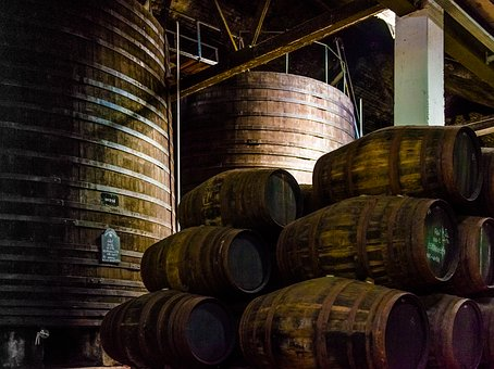 Wine, Wine Barrels, Port Wine, Wooden Barrels