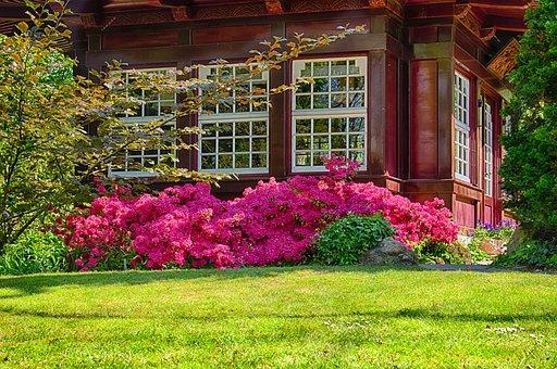 Garden, Park, Home, Pavilion, Applied, Garden Design