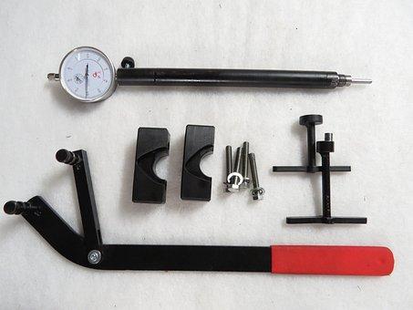 Tools, Camshaft, Kamlås, Indicator