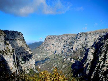 Canyon, Zagoroxoria, Nature, Greece, Landscape, Greek